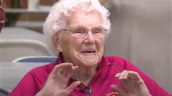 Heart medicine can't stop this 104-year-old lady from vital her best life
